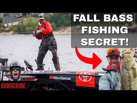Fall Bass Fishing SECRET!