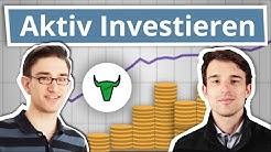 Den Markt schlagen? Aktives Investieren - mit Christophs Aktienkurs