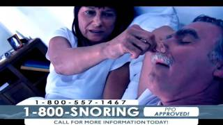 Signs and Symptoms of Snoring and Sleep Apnea Call 1-800-SNORiNG Now!