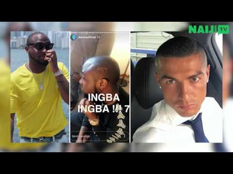Cristiano Ronaldo 'follows' Davido, Daddy Freeze shades Nathaniel Bassey