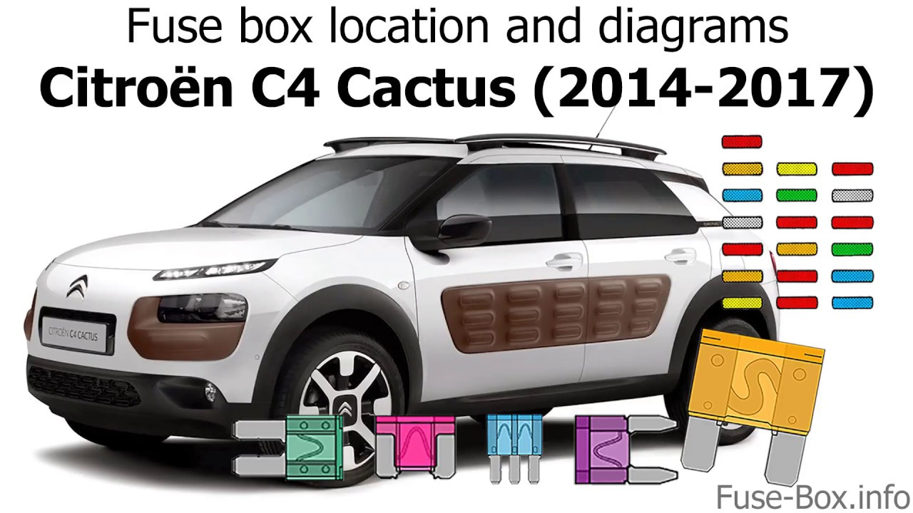 Fuse Box Location And Diagrams  Citroen C4 Cactus  2014