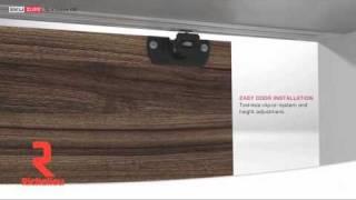 Richelieu Hardware - Hardware set for two skiding doors 16kg