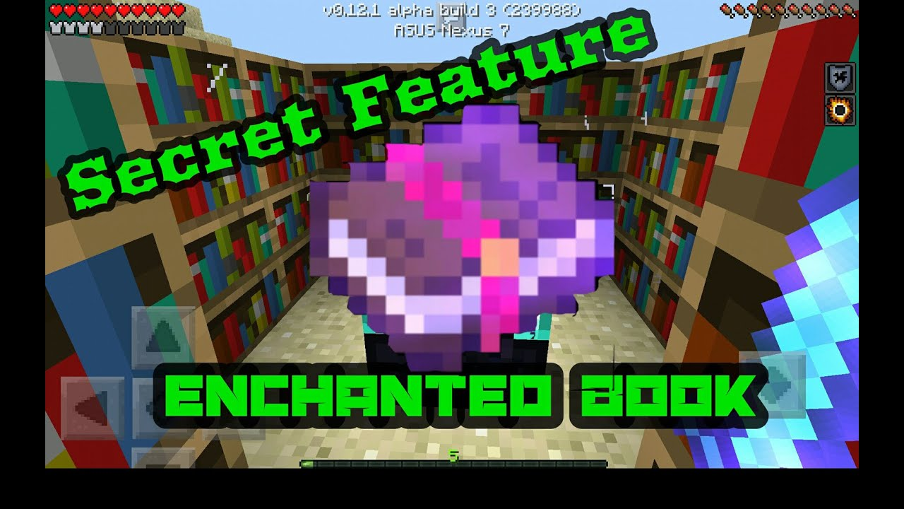 How To Make A Book Minecraft Pe : Mcpe secret concept enchanted books youtube