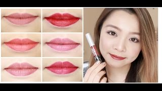 THE BALM COSMETICS ♡ Meet Matt(e) Hughes ♡ Liquid Lipstick Review & Swatches ♡ TrinhPham
