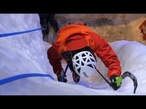 Basic Ice Climbing Techniques with Dave MacLeod