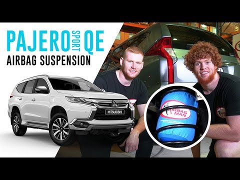 How To Install: Mitsubishi Pajero Sport QE Air Suspension – CR5031HP Airbag Man Coil Helper Kit