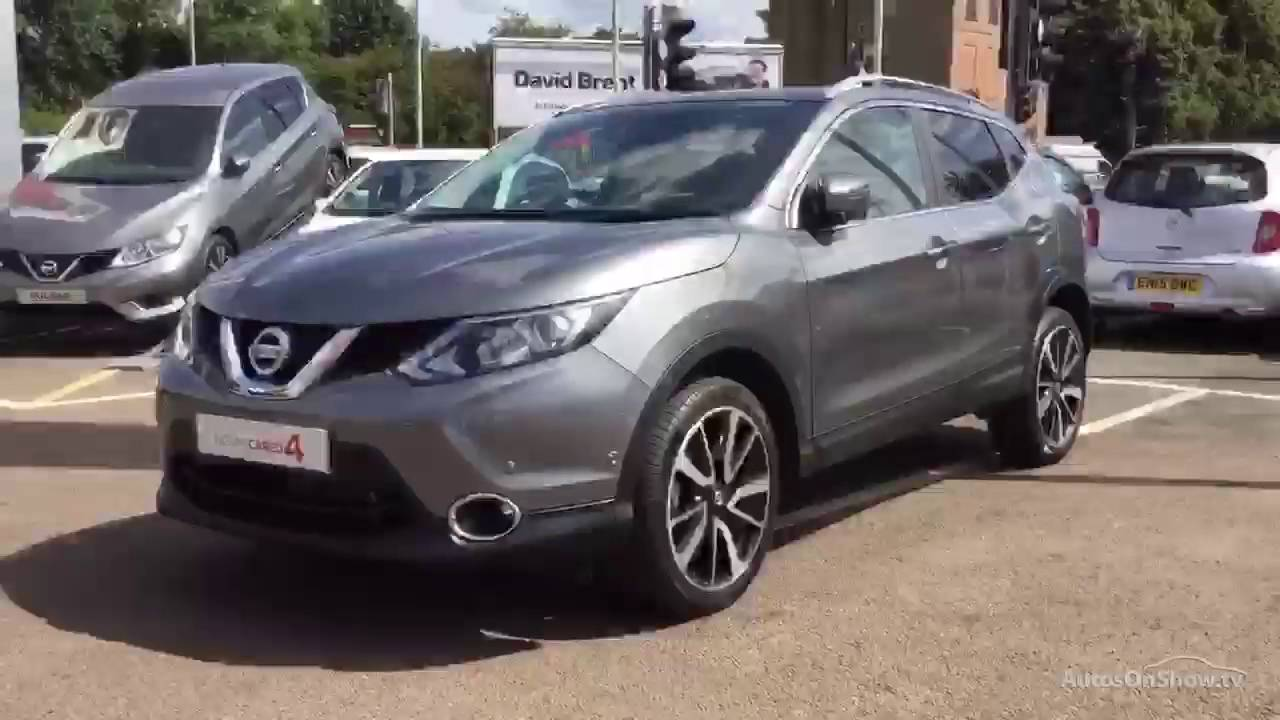 nissan qashqai tekna dig t xtronic grey 2016 youtube. Black Bedroom Furniture Sets. Home Design Ideas