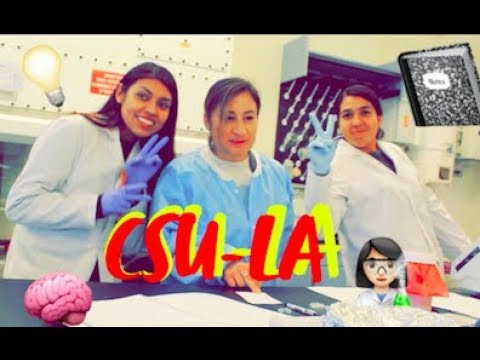 Day in the life as a CSULA Student | Biology Major