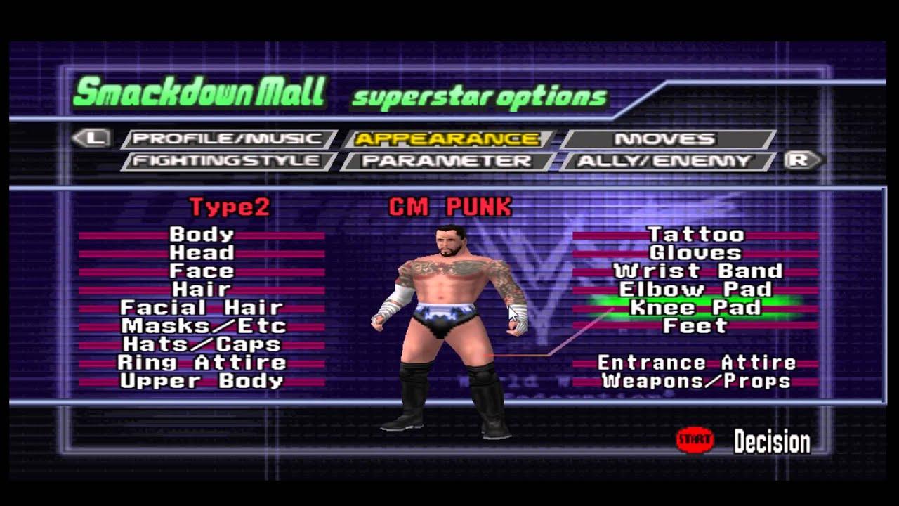 WWF No Mercy CM Punk Build by IceWarm