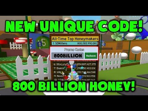 New Op Code 800 Billion Honey Roblox Bee Swarm Simulator - all new codes in bee swarm simulator new update roblox