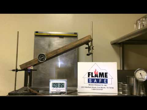 Fire Retardant Treated Wood Part 2  1-800-333-9197 Flame Safe