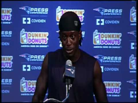 Deion Branch Press Conference