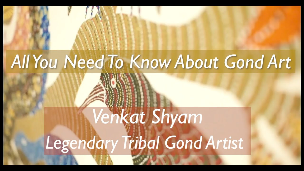 Indian Folk Artist | Gond Art | All you need to know about Gond Art