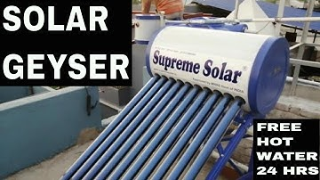 48Hrs free hot water for Hotel or Home & maintenance free l SURYATAPAN SOLAR l Solar Water Heater