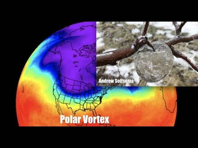 Polar Vortex creates RARE Phenomenon - Just when you thought you had seen it all!