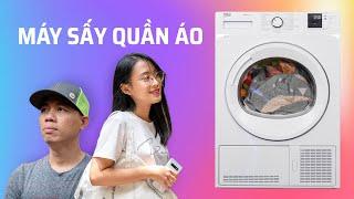 Hỏi cuhiep: Tại sao nên có máy sấy quần áo trong nhà?