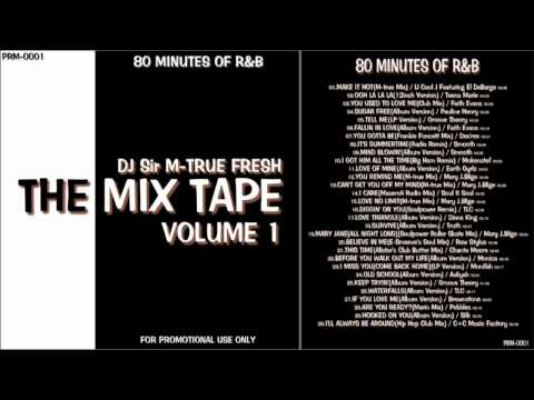 """RnB Non Stop Mix """"The Mix Tape Vol.1"""" 80 MINUTES OF R&B"""