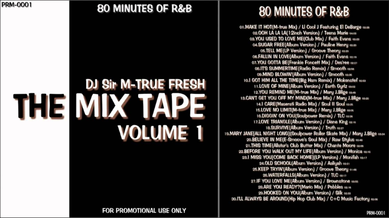"""RnB Non Stop Mix """"The Mix Tape Vol.1"""" 80 MINUTES OF R&B - YouTube"""
