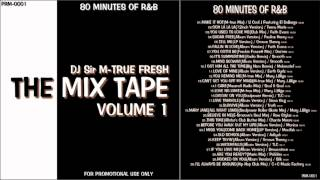 "RnB Non Stop Mix ""The Mix Tape Vol.1"" 80 MINUTES OF R&B"