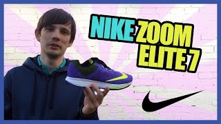 Беговые кроссовки Nike Zoom Elite 7(Женские беговые кроссовки Nike Zoom Elite 7. Легкие кроссовки для быстрого бега. Повышенная амортизация. Верх -..., 2015-05-12T14:14:32.000Z)
