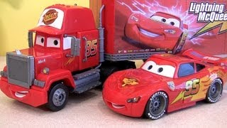Klip Kitz Mack Truck Hauler CARS 2 Lightning McQueen Buildable Toys Disney Pixar by Funtoys
