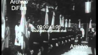 DiFilm - Juan Carlos Ongania visita provincia de San Juan 1968
