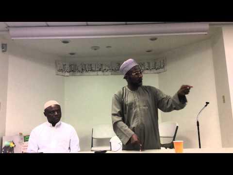 SH. Bin Uthman kano at Berlin Masjid Connecticut 2015