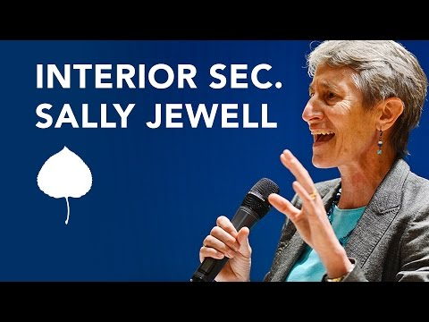 A Conversation with Secretary Sally Jewell