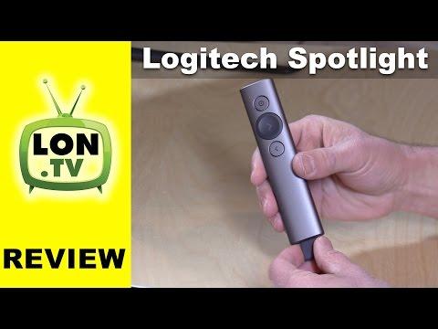 Logitech Spotlight Advanced Presentation Remote Review Youtube