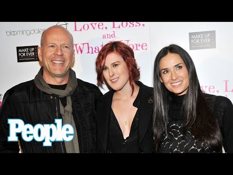 Bruce Willis & Demi Moore's Daughter Rumer Willis Dishes On Their Relationship | People NOW | People