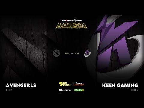 Avengerls vs Keen Gaming Game 2 - SL ImbaTV D2 Minor S3 CN Qualifier: Losers' Round 1