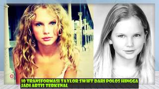 10 Transformasi Taylor Swift dari polos hingga jadi artis terkenal