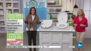 iTouchless Round Touchless Toilet Seat