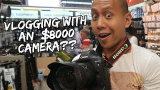 VLOGGING WITH MY NEW $8000 CANON 1DX II (REVIEW)   Vlog #148