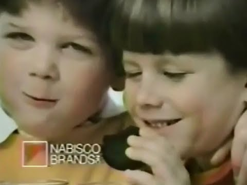 Nabisco Brands My Best Friend And A Oreo Cookie 1986 TV Commercial HD