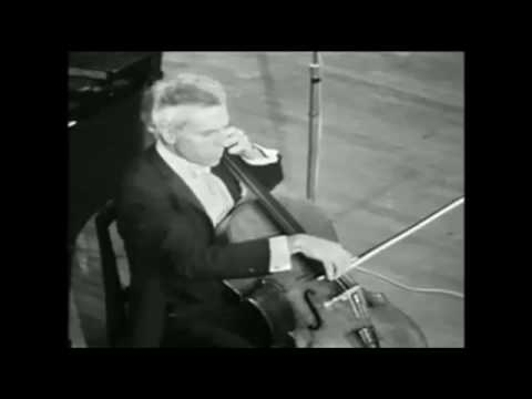 Beethoven  Cello Sonata No. 3 inA major, Op. 69 - Paul Tortelier