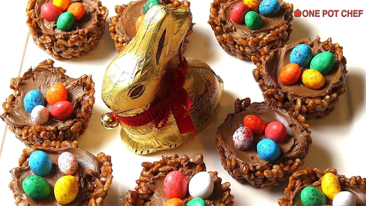 chocolate easter nests one pot chef youtube