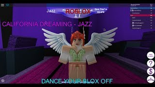 Roblox- Dance Your Blox Off- California Dreaming- Jazz