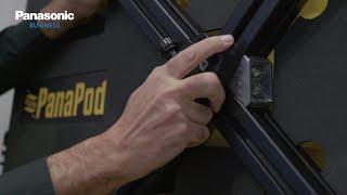 Comment configurer l'unité d'élévation Panapod pour les caméras PTZ Panasonic!