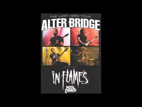 Alter Bridge, In Flames and Metal Church are set to play some shows together!