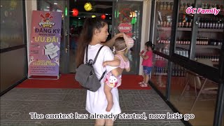 MINI DRAGON? Beautiful Mom And Her Cute Baby Seeing 1st time   ỐC Family