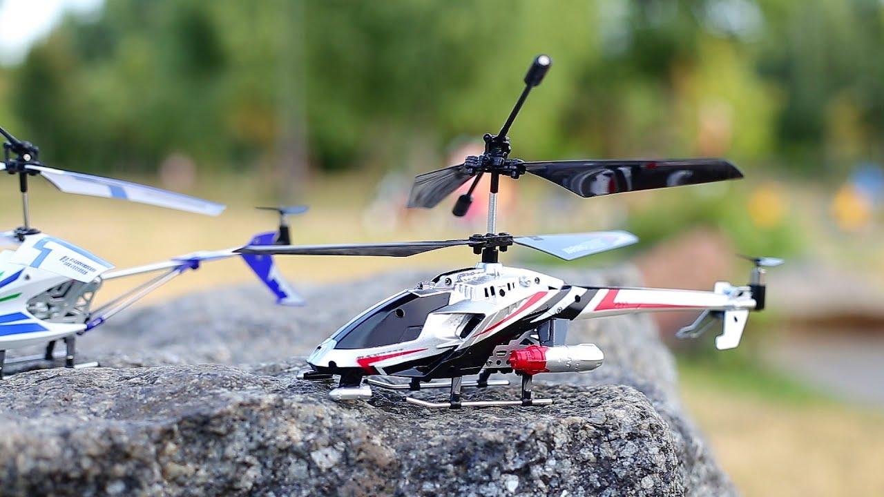 Радиоуправление на вертолёт