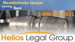 Hawaii Mesothelioma Lawyer   Find Asbestos Attorneys