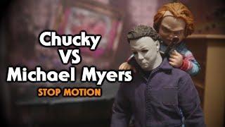 Chucky vs Michael Myers Stop Motion