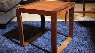 How To Make a Modern End Table