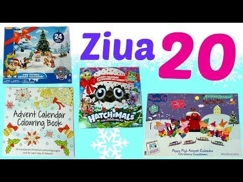 Calendare de Crăciun 🎄❄️ Calendare Advent 🎅🏼 Ziua 20