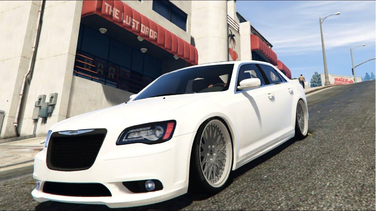 Stanced Chrysler 300 GTA V - Slight Stanced...