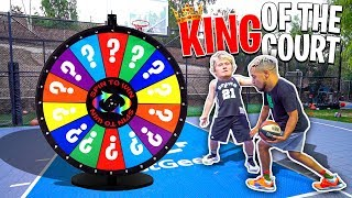 2HYPE SPIN THE WHEEL King Of The Court Basketball Challenge!!