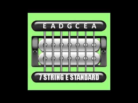 Perfect Guitar Tuner (7 String E Standard = E A D G C E A)