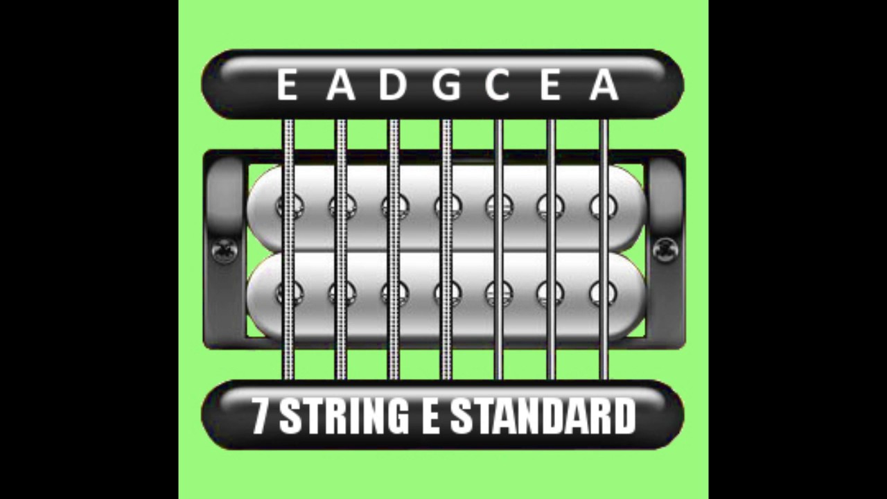 perfect guitar tuner 7 string e standard e a d g c e a youtube. Black Bedroom Furniture Sets. Home Design Ideas